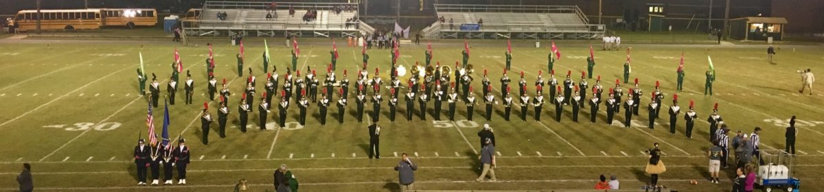 Great Bridge High School Band and Color Guard